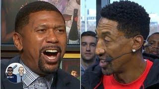 Jalen Rose isn't buying Scottie Pippen choosing MJ over LeBron   Jalen & Jacoby