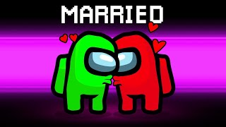 Getting MARRIED In AMONG US! (LOVERS Role)