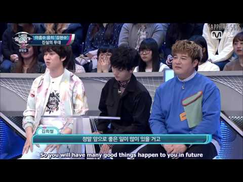 Kim Heechul being serious