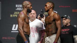 UFC 244: Jon Jones versus Israel Adesanya the MEGAFIGHT!!!