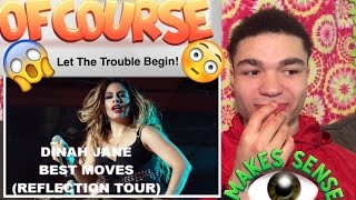 """DINAH JANE (Omfg! YOU GUYS SET ME UP!!) """"Reflection Tour Best Moves"""" REACTION !!"""
