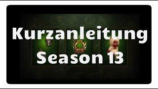 Diablo 3: Season 13 Kurzanleitung (Release, Sets, Level-Trick)