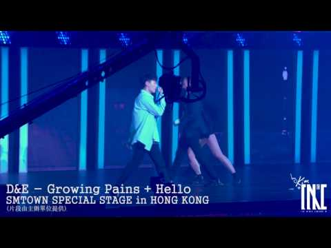 170805 D&E 슈퍼주니어 동해&은혁 - Growing Pains + Hello @ SMTOWN SPECIAL STAGE in HONG KONG