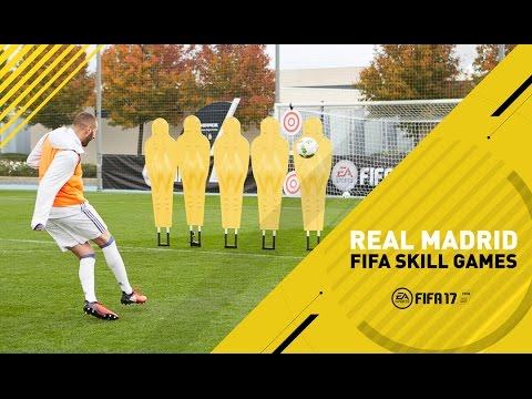 FIFA 17 - Real Madrid Skill Games Challenge - Ft. James, Benzema, Carvajal, Navas