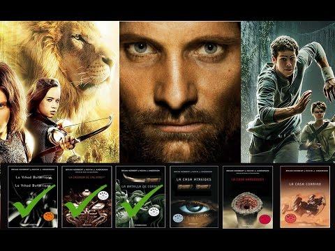 TOP 10 Sagas literarias que quedaron Inconclusas en el Cine