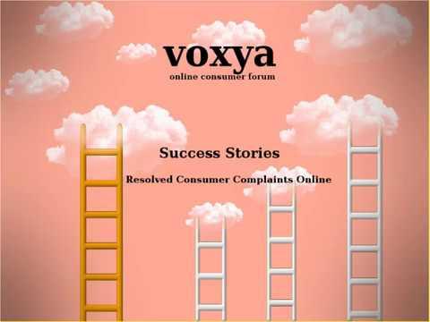 Success Stories Of Voxya Consumer Forum