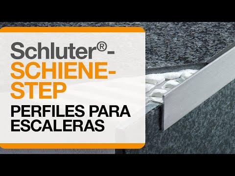 Cómo instalar un remate para cantos de cerámica sobre escaleras: Schluter®-SCHIENE-STEP
