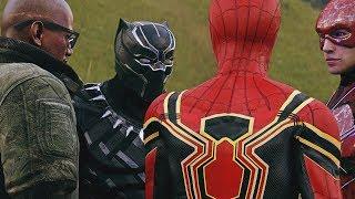THANOS vs AVENGERS vs IRON SPIDER-MAN, HULK BUSTER , BLACK PANTHER, THE FLASH, COSMIC SPIDER-MAN