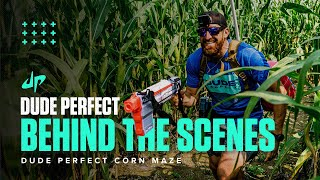 Dude Perfect Corn Maze (Behind The Scenes)