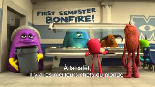 Monstres academy :  bande-annonce VOST