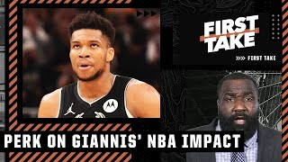 You're a 'BONAFIDE HATER' if you aren't a fan of Giannis, CARRY ON! - Perk sounds off   First Take