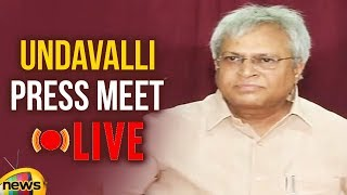 Undavalli Aruna Kumar Press Meet Live..