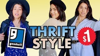I Thrift Shop My Holiday Outfits | MeganBatoon