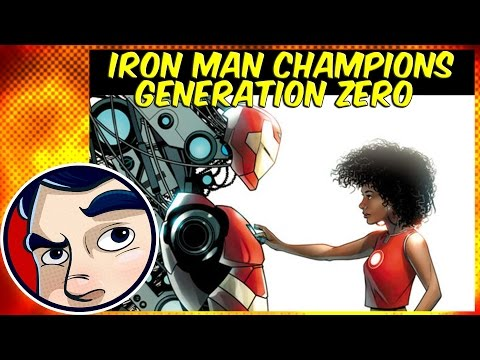 Iron Man (Riri Williams), Marvel's Champions, Generation Zero - Three in One