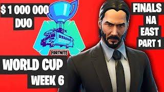Fortnite World Cup Week 6 Highlights Final NA East Duo Part 1 [Fortnite World Cup Highlights 2019]
