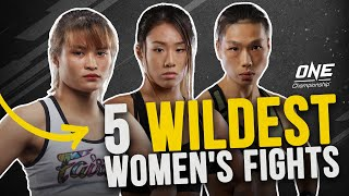 5 Wildest Women's Fights In ONE Championship