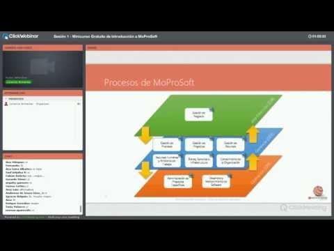 Curso de Introducción a MoProSoft Sesion 1