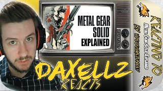 Reacting to videogamedunkey Metal Gear Solid Explained