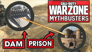 The Longest Sniper Shot in Warzone (Call of Duty Warzone Mythbusters)