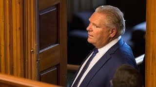 Former premiers back Doug Ford's use of notwithstanding clause | Power & Politics - YouTube