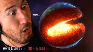 I ACCIDENTALLY DESTROYED THE EARTH | Solar Smash