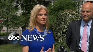 Conway says Pelosi dismissed her as 'staff'
