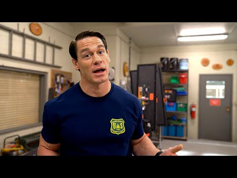 John Cena takes you behind the scenes of his new movie, Playing With Fire
