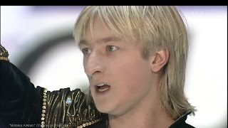 "[HD] Evgeni Plushenko - ""Once Upon a Time in America"" 2000/2001 GPF - Final Round FS  プルシェンコ"