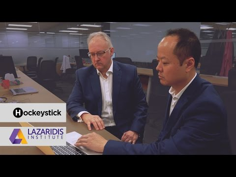 Video: Hockeystick and the Lazaridis Institute Launch a National Scale-Up Data Platform