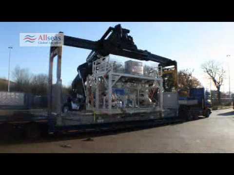 Heavy Lift Cargo loading at Felixstowe
