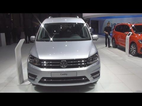 Volkswagen Caddy 1.4 TGI 110 hp 6-DSG (2016) Exterior and Interior in 3D