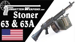 Stoner 63, 63A, & Mk23: History and Mechanics