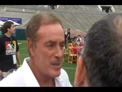 AL MICHAELS discusses the NFL BACK TO LOS ANGELES ...