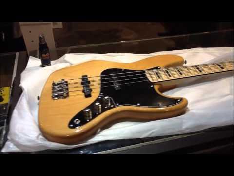 Baixo Squier Vintage Modified Jazz Bass Natural - Iraê - São Caetano do Sul - SP