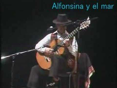 Alfonsina y el mar「アルフォンシーナと海」 - YouTube