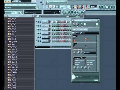 Ritmo Roland ''Cumbia'' Echo por Fl Studio 7(parte1)''Armando La Bateria''