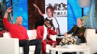 Dwayne Johnson Reveals Kevin Hart's Awkward Teen Photo
