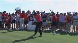 Looking At Tiger Woods' Golf Swing   2017 Hero Challenge