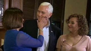 Mike Pence opens up about being a husband and a father