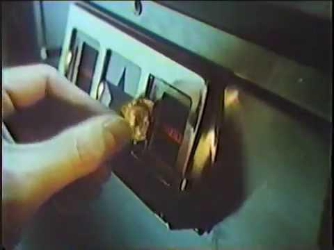 Lo spot del flipper nella Tv Usa nel 1984