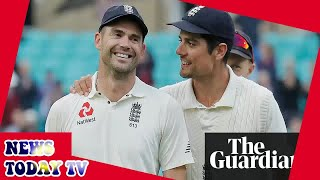 Jimmy Anderson is England's best ever cricketer, says departing Alastair Cook