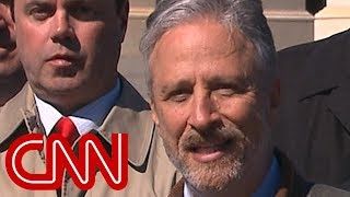 Jon Stewart slams Mulvaney over 9/11 health program proposal