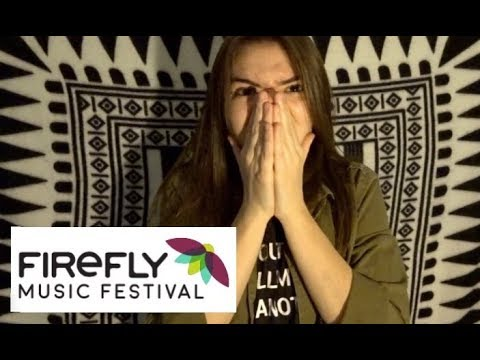 FIREFLY 2018 LINEUP *REACTION*