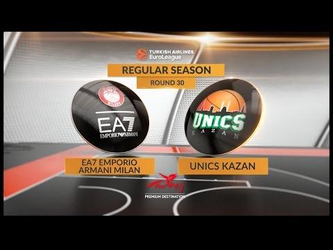 Ea7-Emporio Armani Milano vs BC Uniks Kazan
