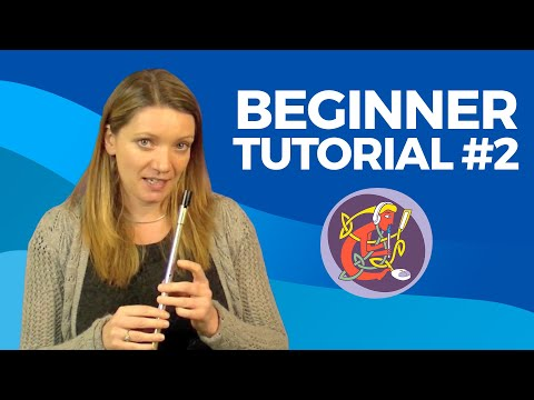 Beginner Irish Tin Whistle Free Lesson No.2 of 6: The Rattlin' Bog with Kirsten Allstaff | OAIM.IE