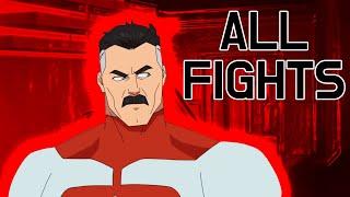 All Omni man Fight scenes