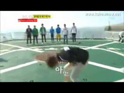 CHANGMIN IS CHASING YUNHO IN RUNNING MAN EP 115 TVXQ