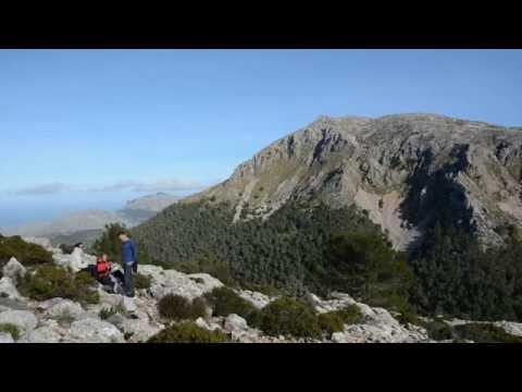 Caminando por la Tramuntana, Mallorca