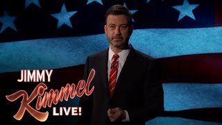 Jimmy Kimmel Pledges to Faithfully Satirize President Trump