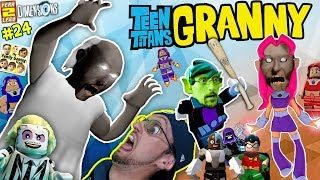 GRANNY Plays LEGO w/ FGTEEV!  TEEN TITANS GO Stop Wicked Starfire! (LEGO DIMENSIONS Year 2 #24)